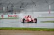 Scott Dixon qualifies in the wet at IMS -- Photo by: Daniel Incandela