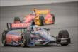 Graham Rahal and Sebastian Saavedra at IMS -- Photo by: Forrest Mellott