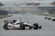 Josef Newgarden on track -- Photo by: John Cote