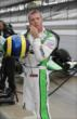 Sebastien Bourdais prepares for practice at IMS -- Photo by: Joe Skibinski