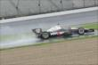 Will Power during qualifying at IMS -- Photo by: Joe Skibinski