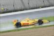 Ryan Hunter-Reay qualifying for the Grand Prix of Indianapolis -- Photo by: Joe Skibinski