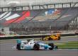 James Hinchcliffe on the road course at IMS -- Photo by: Mike Harding