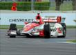 Helio Castroneves on track -- Photo by: Mike Harding