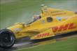 Ryan Hunter-Reay during qualifications -- Photo by: Walter Kuhn