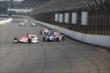 Cars heading into turn 1 -- Photo by: Bret Kelley