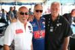 Team Owners Bobby Rahal, David Letterman and Mike Lanigan -- Photo by: Chris Jones