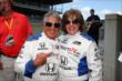 Mario Andretti poses with the