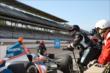 Simon Pagenaud in pit lane -- Photo by: Chris Jones