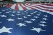The American Flag at IMS -- Photo by: Dana Garrett