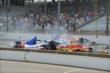 Crash prior to the start of the race -- Photo by: Dana Garrett