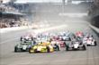The start of the Grand Prix of Indianapolis -- Photo by: Daniel Incandela
