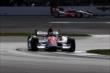 Helio Castroneves at IMS -- Photo by: Daniel Incandela
