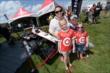 Fans having fun in the Verizon IndyCar Fan Village -- Photo by: John Cote