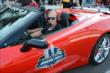 Arie Luyendyk in the Pace Car -- Photo by: Jim Haines