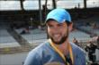 Andrew Luck visits the Grand Prix of Indianapolis -- Photo by: Jim Haines