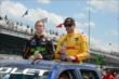 Ryan Hunter-Reay and Jack Hawksworth at IMS -- Photo by: Jim Haines