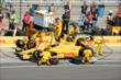 Ryan Hunter-Reay in pit lane -- Photo by: Jim Haines