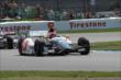 Simon Pagenaud on track -- Photo by: Joe Skibinski