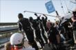 Pagenaud's crew cheers him on -- Photo by: Joe Skibinski
