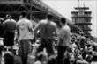 Fans watch the Grand Prix of Indianapolis -- Photo by: Shawn Gritzmacher