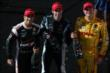 Helio Castroneves, Simon Pagenaud, and Ryan Hunter-Reay -- Photo by: Shawn Gritzmacher