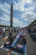 Graham Rahal's car on the grid -- Photo by: Walter Kuhn
