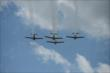 P51 Mustang Flyover -- Photo by: Chris Owens