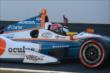 Simon Pagenaud wins the inaugural Grand Prix of Indianapolis -- Photo by: Chris Owens