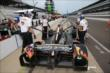 Townsend Bell in pit lane -- Photo by: Chris Jones