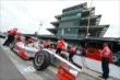 Tony Kanaan in pit lane -- Photo by: Chris Owens