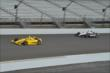 Teammates Helio Castroneves and Will Power -- Photo by: Chris Owens