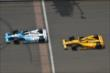 EJ Viso and Ryan Hunter-Reay -- Photo by: Chris Owens