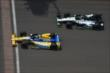 Sebastien Bourdais and Marco Andretti -- Photo by: Chris Owens