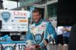 E.J. Viso in pit lane -- Photo by: Jim Haines