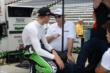 Sebastien Bourdais in his pit box -- Photo by: Jim Haines