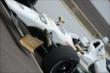 Ed Carpenter in his car -- Photo by: Jim Haines