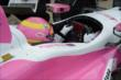 Pippa Mann in her car -- Photo by: Jim Haines