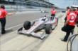 Scott Dixon in pit lane -- Photo by: Jim Haines
