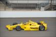 Helio Castroneves on track -- Photo by: Jim Haines