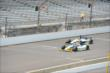 Marco Andretti and Sebastien Bourdais at IMS -- Photo by: Jim Haines