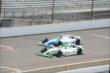 Carlos Munoz and E.J. Viso at IMS -- Photo by: Jim Haines