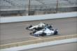 JR Hildebrand and Ed Carpenter on track -- Photo by: Jim Haines