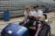 Graham Rahal and Courtney Force -- Photo by: Joe Skibinski