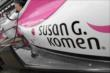 Pippa Mann's car sponsored by Susan G. Komen -- Photo by: Joe Skibinski