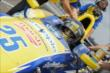 Marco Andretti -- Photo by: Joe Skibinski