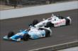 E.J. Viso and Simon Pagenaud at IMS -- Photo by: Leigh Spargur