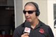 Tony Kanaan speaks with a local radio station at IMS -- Photo by: Mike Young