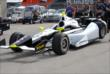 Josef Newgarden's car in Gasoline Alley -- Photo by: Mike Young