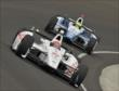 Simon Pagenaud and Carlos Huertas -- Photo by: Dan Boyd
